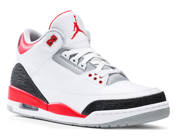 Air Jordan III: Fire Red   Release Reminder