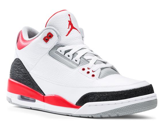 Air Jordan III: Fire Red   Release Reminder