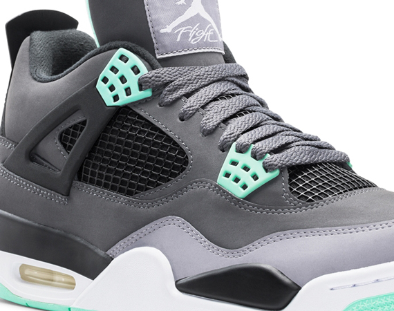 Air Jordan IV: Green Glow   Official Images