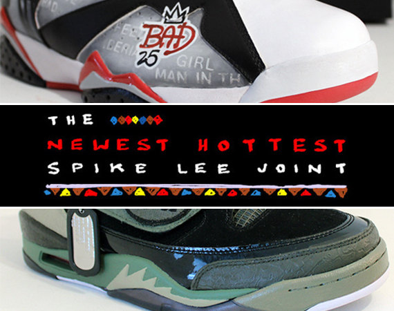 Spike Lee Offers Custom Air Jordans as Kickstarter Reward