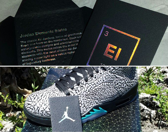 Air Jordan V: 3Lab5   Special Packaging