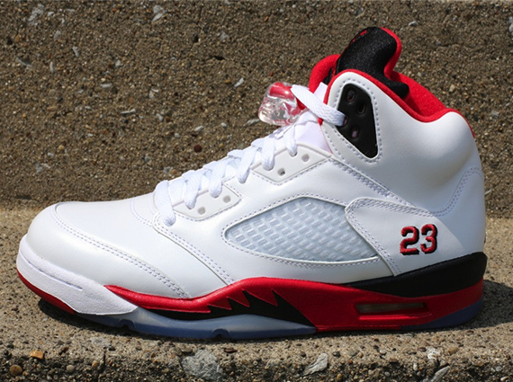 Air Jordan V: Fire Red   Release Reminder