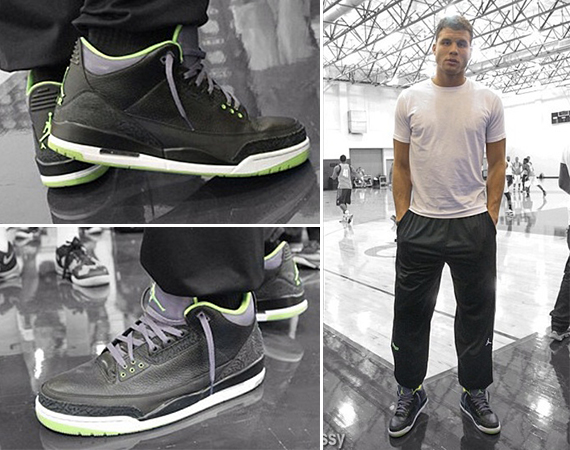 Blake Griffin Wears Air Jordan III: Joker