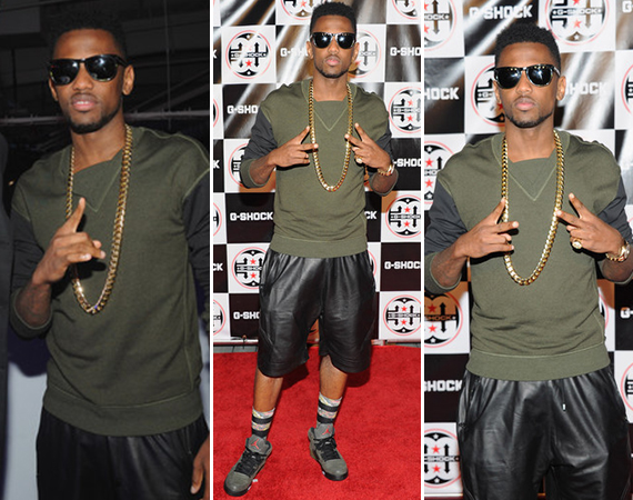 Fabolous Wears Air Jordan V Fear