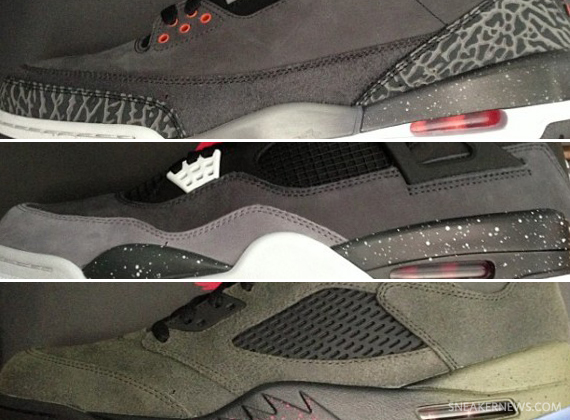 "Air Jordan ""Fear Pack""   Release Date"