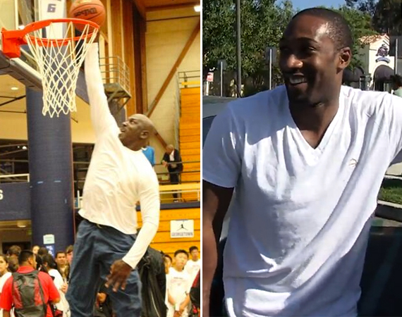 Could Gilbert Arenas Beat a 50 Year Old Michael Jordan?