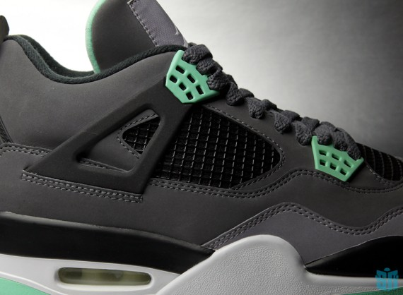 "Air Jordan IV: ""Green Glow"" – Beauty Shots"