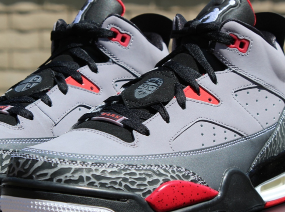 7e16fd604b17a4 The Jordan Son of Mars Low will be releasing in a cement grey scheme this  Saturday