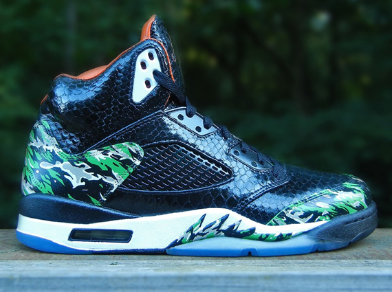 "Air Jordan V: ""Atmos"" Customs by Mache & JBF Customs"