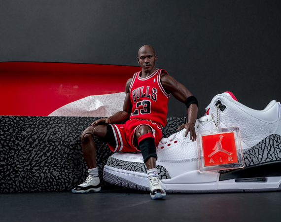 Enterbay has released some crazy life-like replications of Michael Jordan  in past years, scaled down 1/6 of the actual size as a part of their  Enterbay Real ...