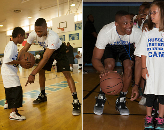 Russell Westbrook Wears Air Jordan IV Fear