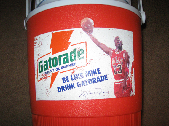 "Vintage Gear: Gatorade ""Be Like Mike"" Cooler"