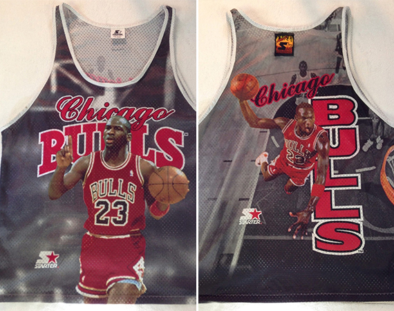 Vintage Gear: Michael Jordan Photo Starter Jersey
