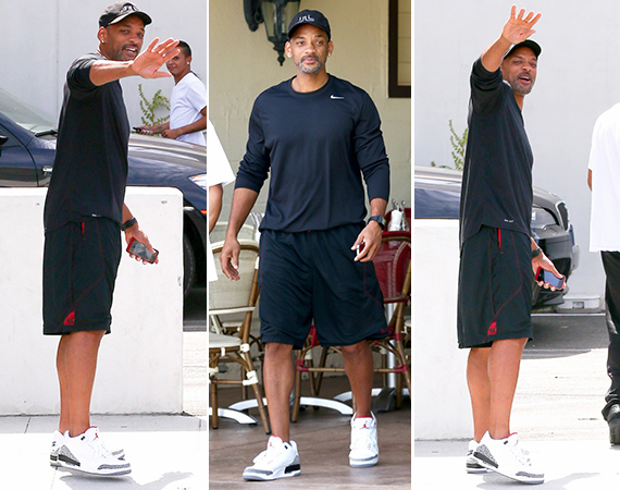 Will Smith Wears Air Jordan III 88