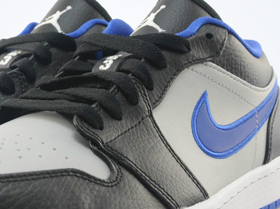 Air Jordan 1 Low: Black   White   Game Royal