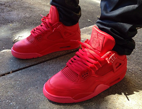 e766612559f Noldo Customs ditches his favorite Air Jordan XI in lieu of another Air  Yeezy 2 inspired custom on the Air Jordan IV. The last time he translated  Kanye s ...