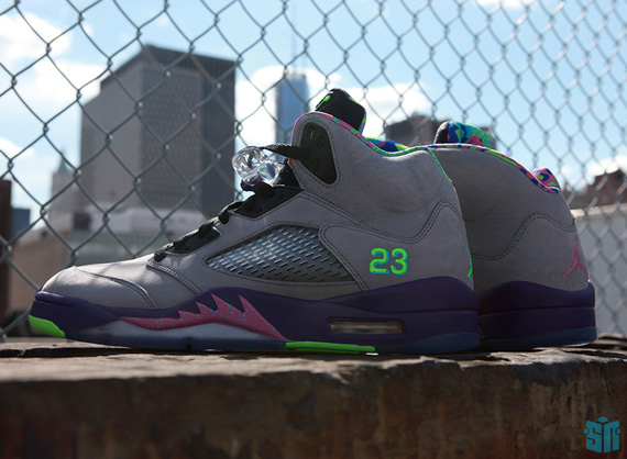 Air Jordan V: Bel Air   Beauty Shots
