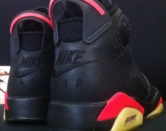 "Air Jordan VI: ""Infrared"" – OG 1991 Pair Available on eBay"