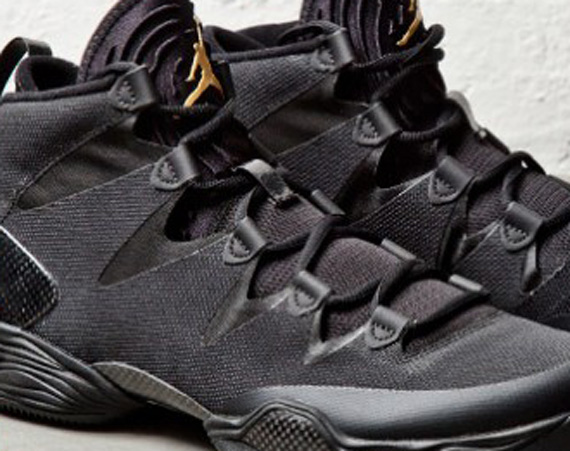 Air Jordan XX8 Lite: Black   Metallic Gold