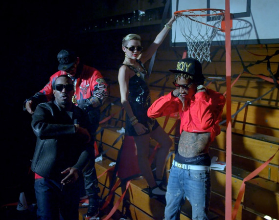 Air Jordans Showcased in Miley Cyrus 23 Video Featuring Juicy J, Wiz Khalifa and Mike Will
