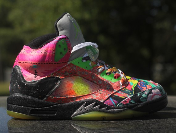 Air Jordan V: Prince of Fresh Customs by Rocket Boy Nift