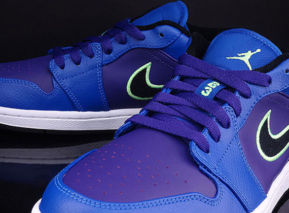 Air Jordan 1 Low: Game Royal   Flash Lime   Court Purple