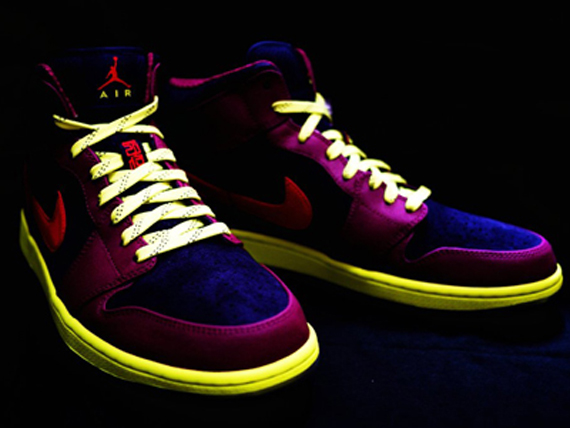 Air Jordan 1 Mid: Year of the Snake