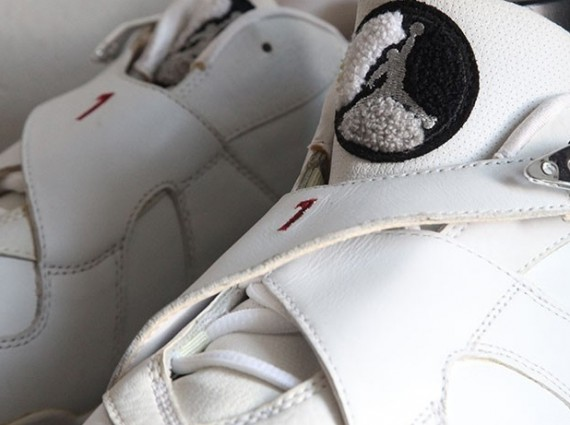 Air Jordan VIII Low: Derek Anderson Blazers Home PE