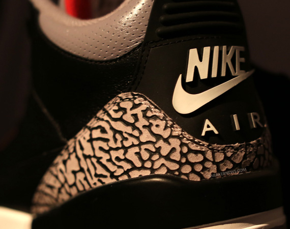 Air Jordan III: Black/Cement   2013 Sample