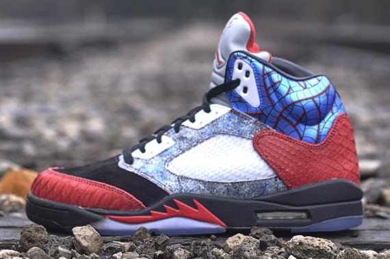 Air Jordan V: Cobra Commander by JBF Customs x Sekure D