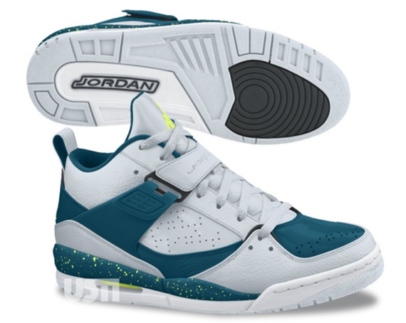 Jordan Flight 45. Color  Pure Platinum Volt Ice-Nightshade Style Code   644846-025. Price   120 dcf8e3506