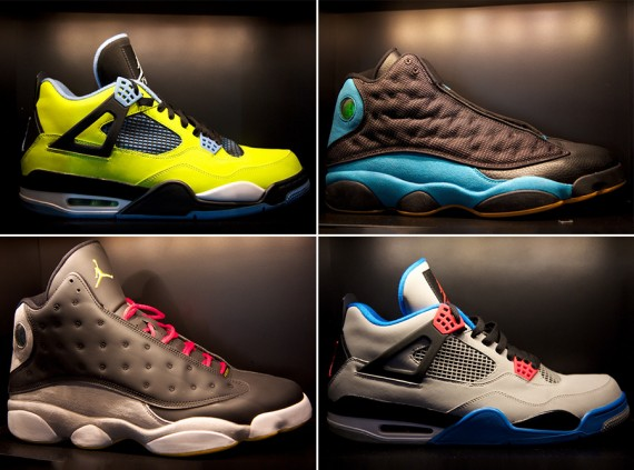 Chris Paul Showcases Air Jordan Collection at Nike Vault