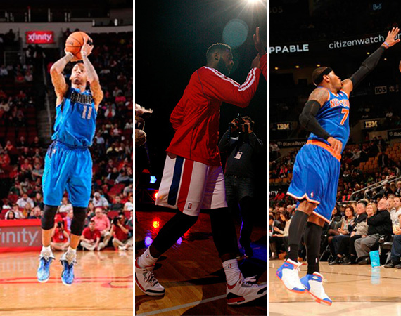 NBA Jordans on Court: Around The League   10/21   10/22
