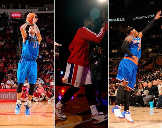 NBA Jordans on Court: Around The League   10/21   10/22