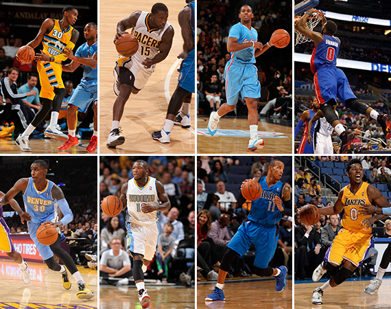 NBA Jordans on Court: The Best of the 2013 2014 Pre Season