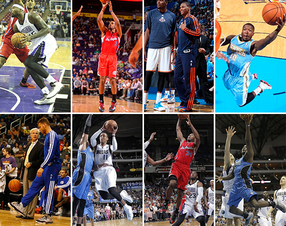 NBA Jordans on Court: Around the League   10/13   10/15
