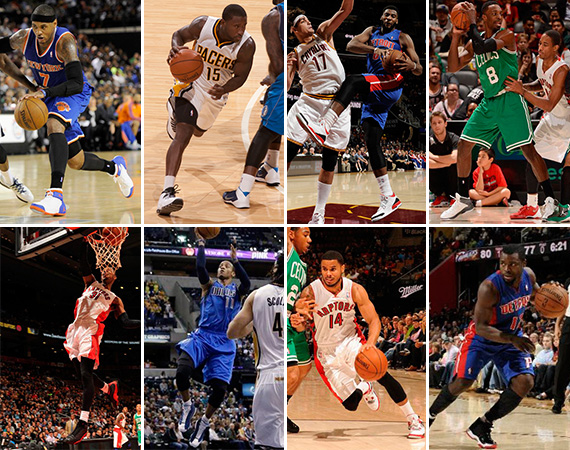 NBA Jordans on Court: Around The League   10/16   10/18