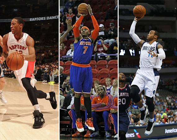 NBA Jordans on Court: Around The League   10/23   10/24