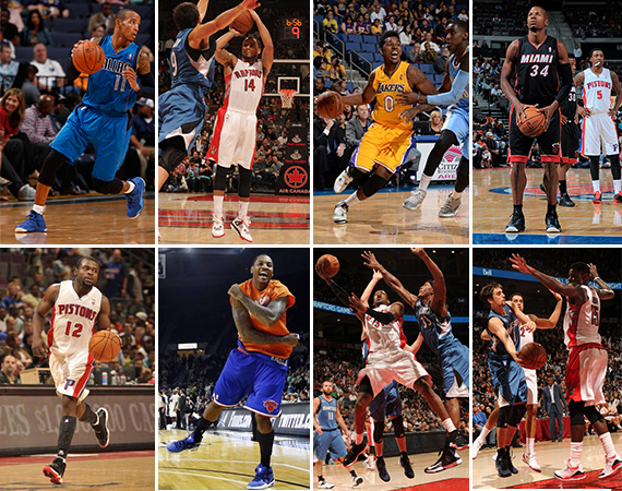 NBA Jordans On Court: Around the League   10/8   10/10