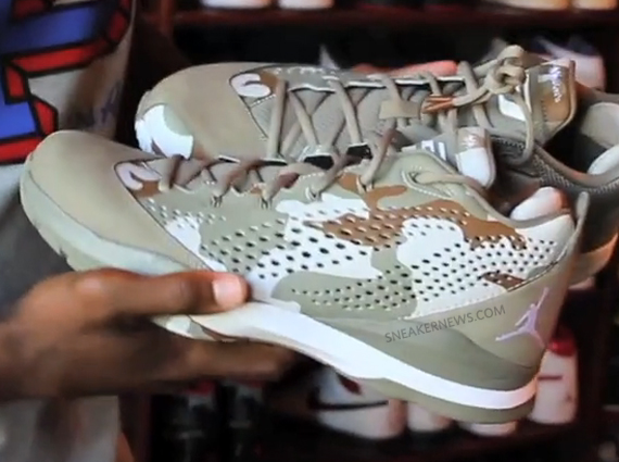 2496c8e7b69 The Jordan CP3.VII will make its debut on retail shelves this weekend, but  during a tour of Chris Paul's sneaker haven yesterday which featured every  big ...