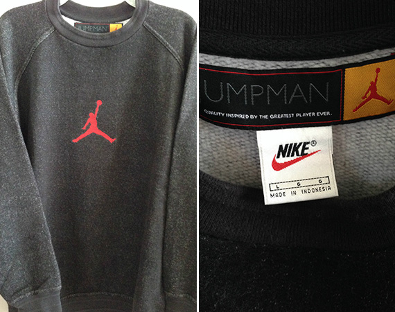 Vintage Gear: Air Jordan XII Sweatshirt