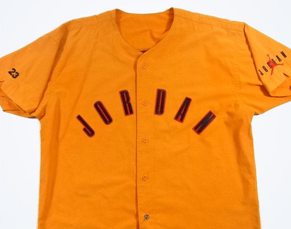 Vintage Gear: Jordan Brand Baseball Jersey