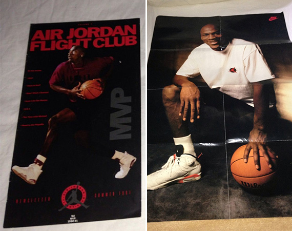 Vintage Gear: Air Jordan Flight Club Poster and Catalogue