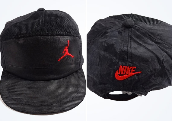 Vintage Gear: Sample Air Jordan Leather 5 Panel Hat