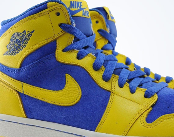 """the best attitude fc751 f7815 Even though that Retro Air Jordan 5 """"Laney"""" recently arrived at retailers,  the High School colorway isn t done just yet. Seen on the likes of Chris  Paul s ..."""
