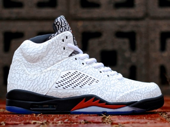 "on sale 6ad88 a8192 The Air Jordan 5 has had a tremendous showing for its 23rd year. One of the  special editions to hit retail shelves was the thoughtful Air Jordan 5  ""3lab5"" ..."