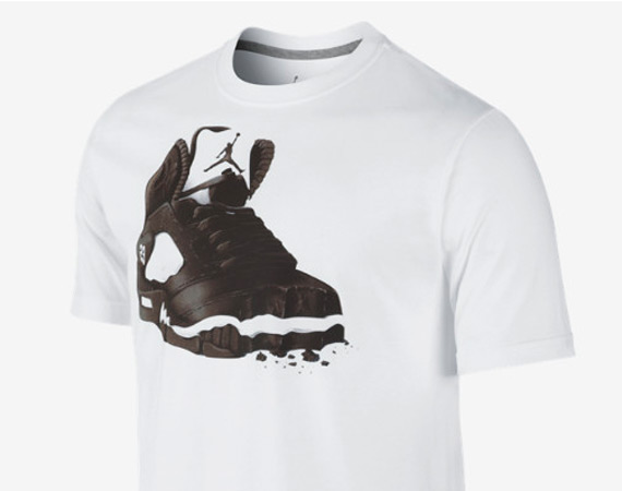Jordan Brand Air Jordan 5 Cookie Dunk T Shirt