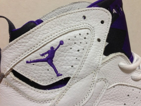Air Jordan VII: Mike Bibby Kings PE