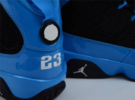 "The Air Jordan IX ""Photo Blue"" ended up releasing with far less of the  photo blue shade then today s look at this unreleased sample. 6b5066489f"