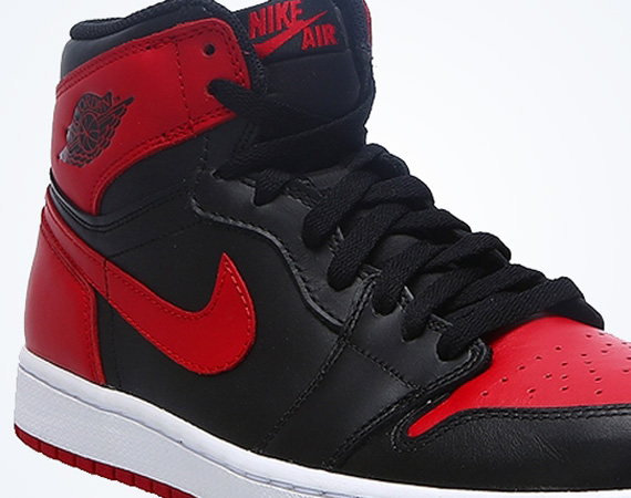Air Jordan 1 Retro High OG: Black   Varsity Red